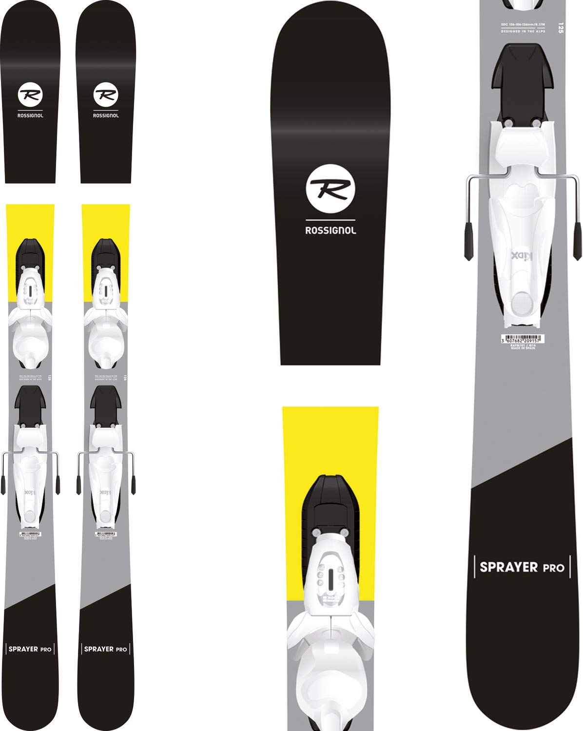 Rossignol Sprayer Pro Skis Kid - Cheap Rossignol Skis