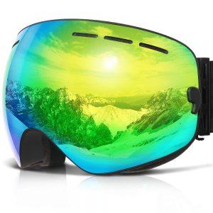 COPOZZ Cheap Youth Snowboard Goggles