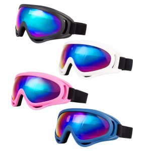LJDJ Cheap Youth Snowboard Goggles