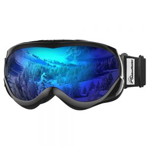 OutdoorMaster Cheap Youth Snowboard Goggles
