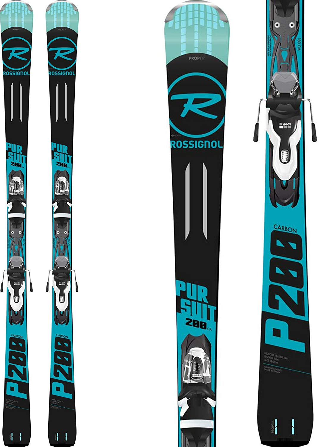 Rossignol Pursuit 200 Carbon Skis - Cheap Rossignol Skis