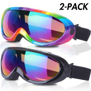 Rngeo Cheap Youth Snowboard Goggles