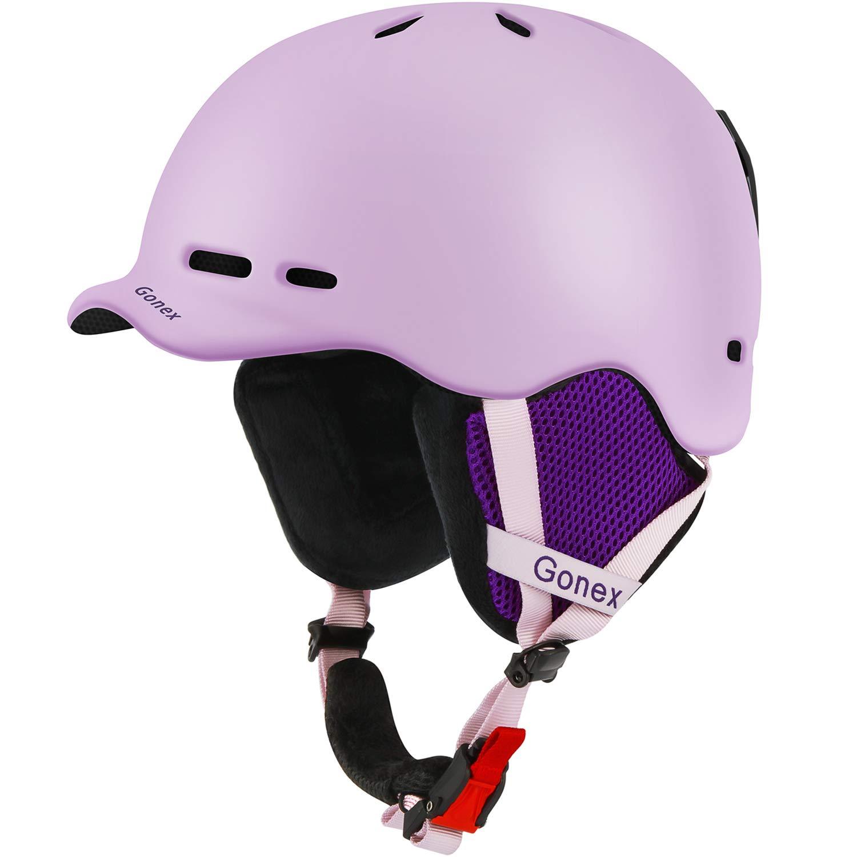 Gonex Ski Adjustable Cheap Girls Ski Helmets