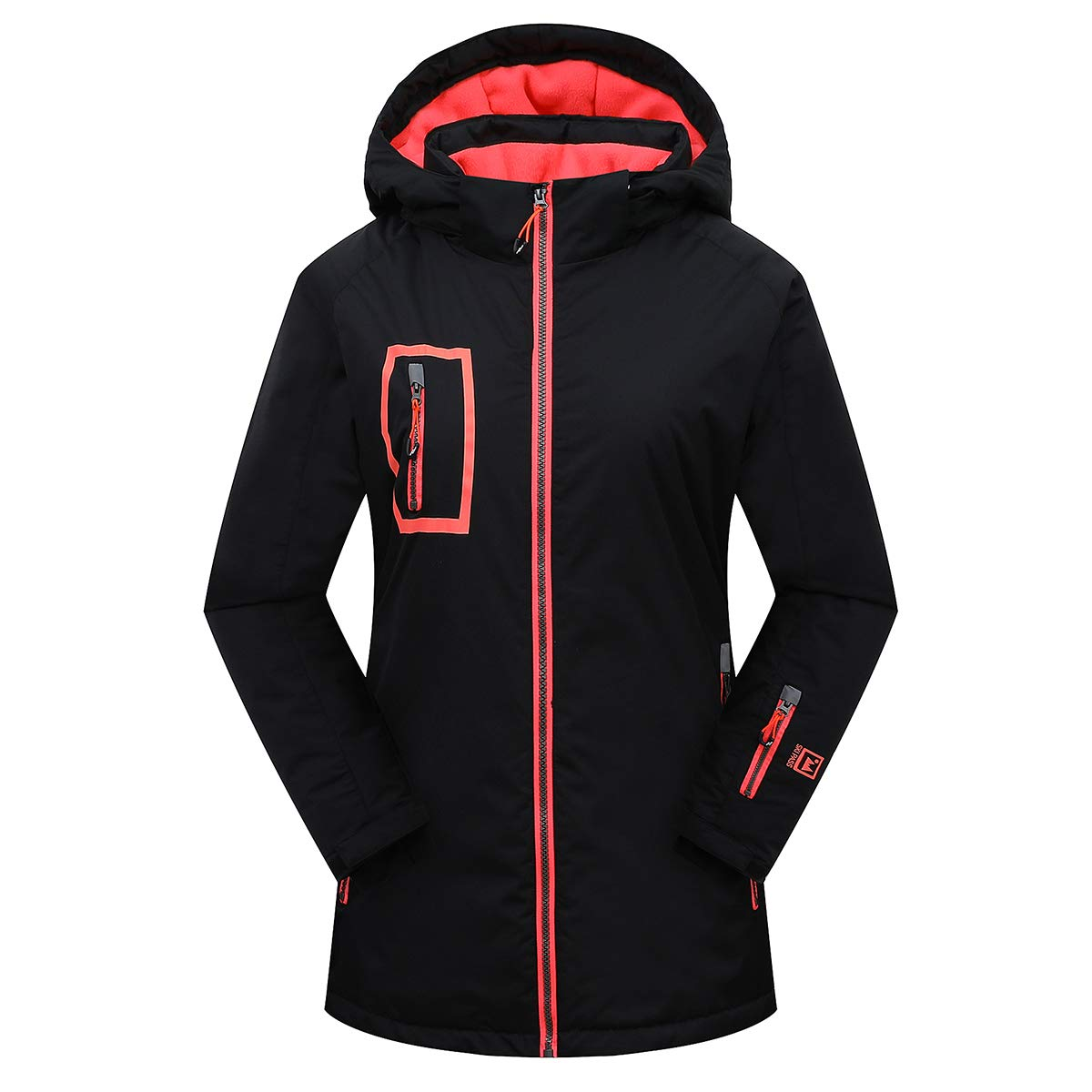 Phibee Girl's Sportswear Ski Jacket - Under $100