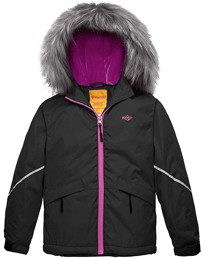 Girl's Waterproof Ski Jacket by Wantdo - Under $100