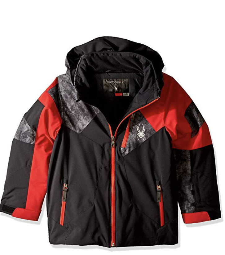 Spyder Kids Boy's Leader Ski Jacket - Under $100