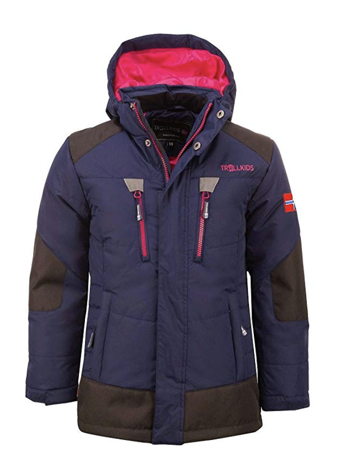 Trollkids Boy's Narvik Water Resistant Heavy Insulated Ski Jacket - Under $100
