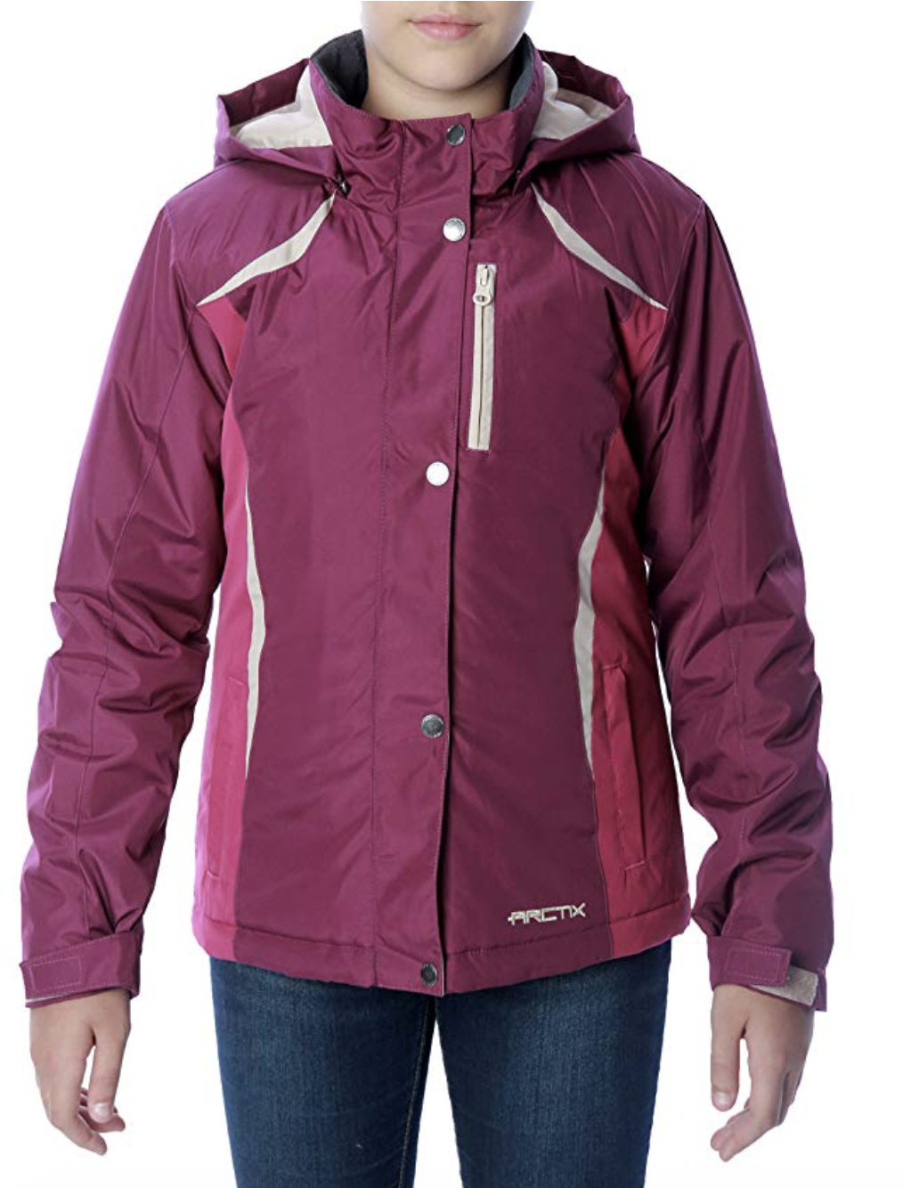 Girl's Frost Insulated Ski Jacket by Arctix - Under $100