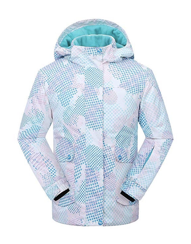 Windproof Girls Ski Jacket from Phibee - Under $100