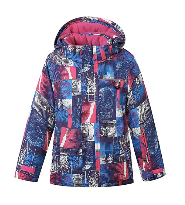 Phibee's Breathable Fleece Girls Ski Jacket - Under $100