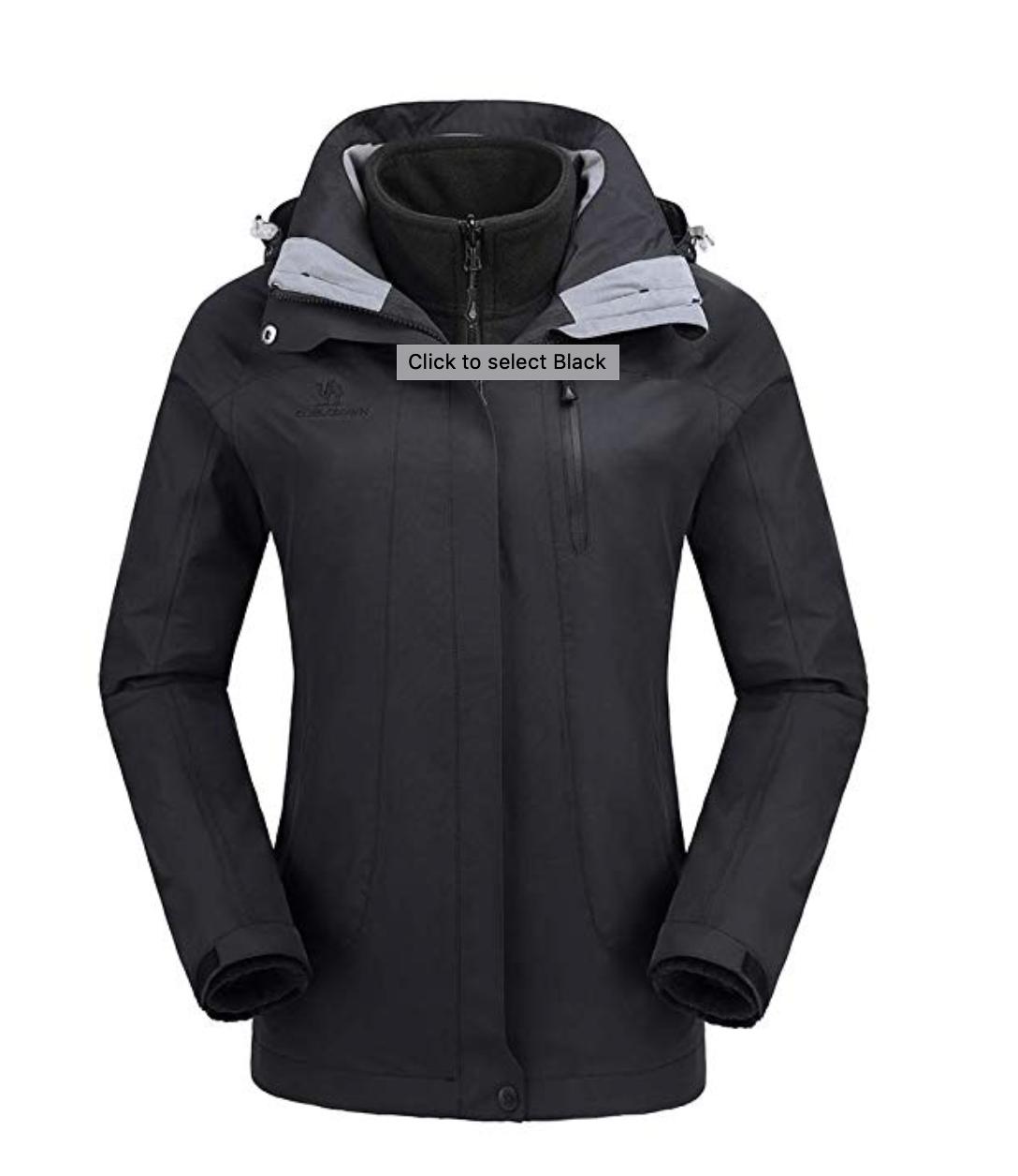 Camel Crown Women's Snowboard Jacket Under $150