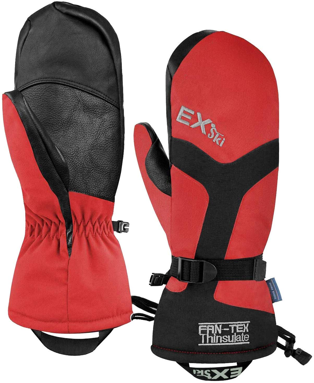 EXski Waterproof Women's Ski Mittens