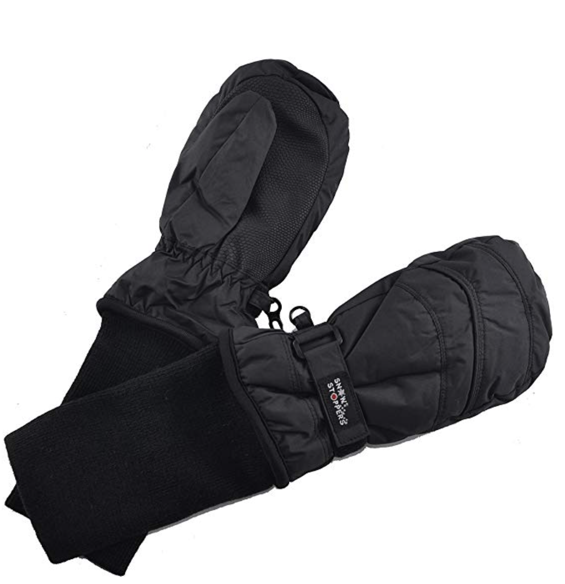 SnowStoppers Waterproof Stay-On Youth Ski Mittens