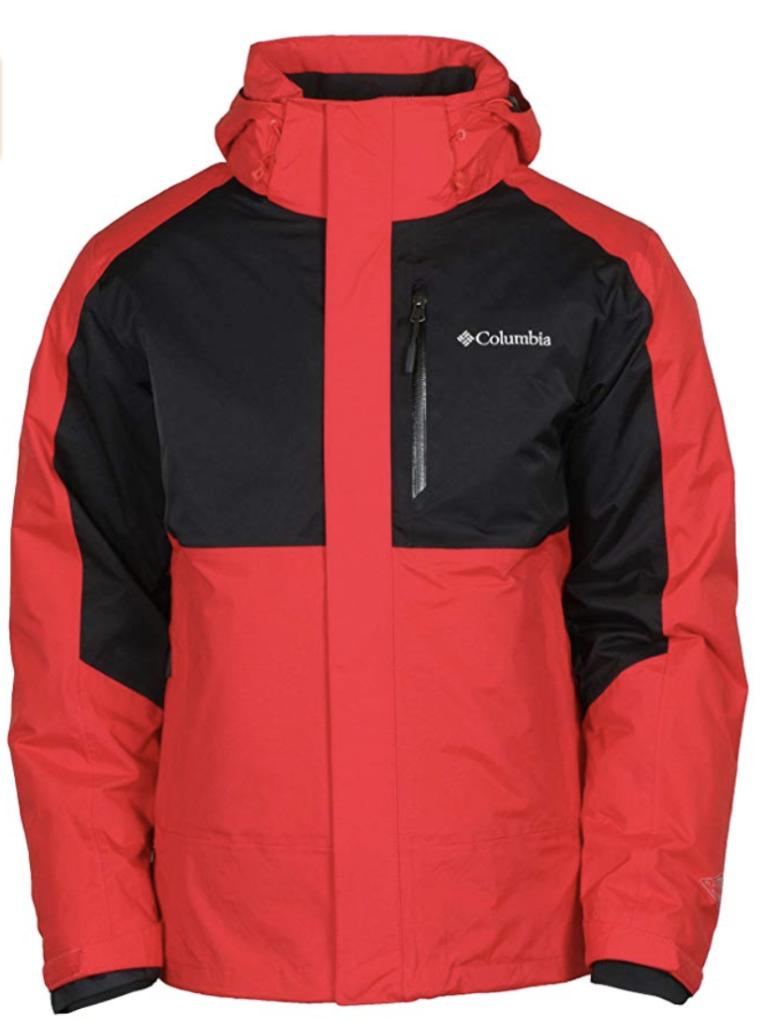 Men's Columbia Rural Mountain 3-in-1 Interchange Ski Jacket