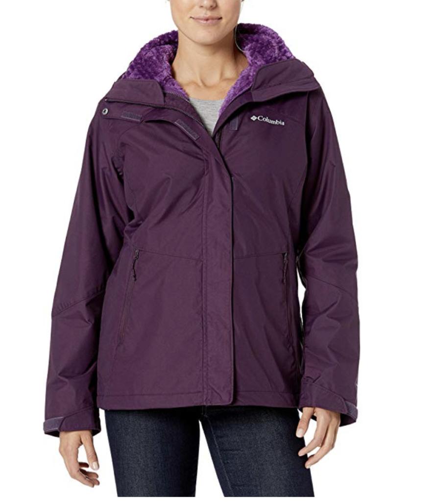 Women's Columbia Bugaboo II Fleece Ski Jacket