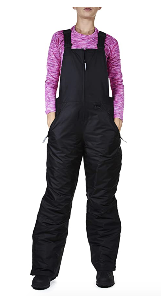 Arctix Women's Essential Insulated Ski Bib Overalls Under $150