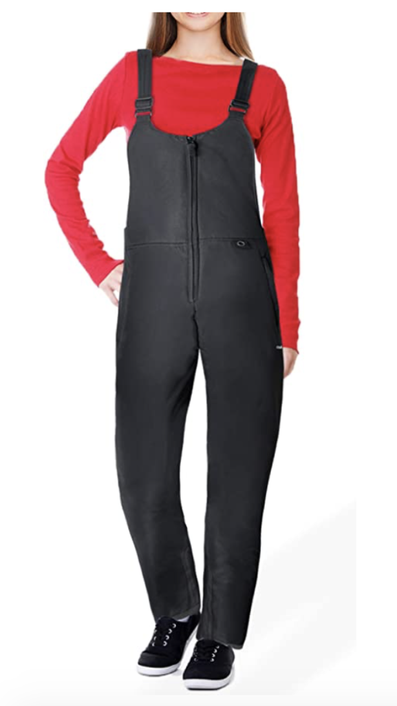 Ohuhu Women's Essential Insulated Ski Bib Overalls Under $150