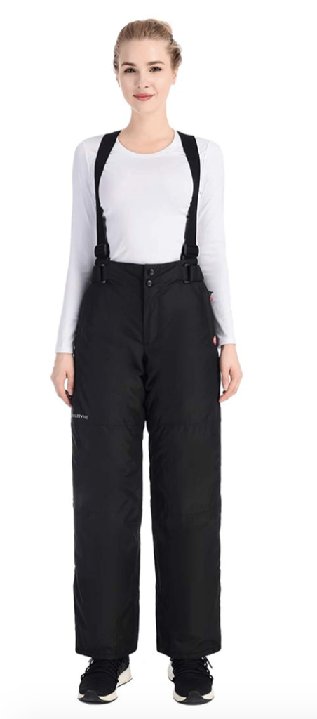 Qualidyne Women's Snow Ski Bibs and Overalls Under $150