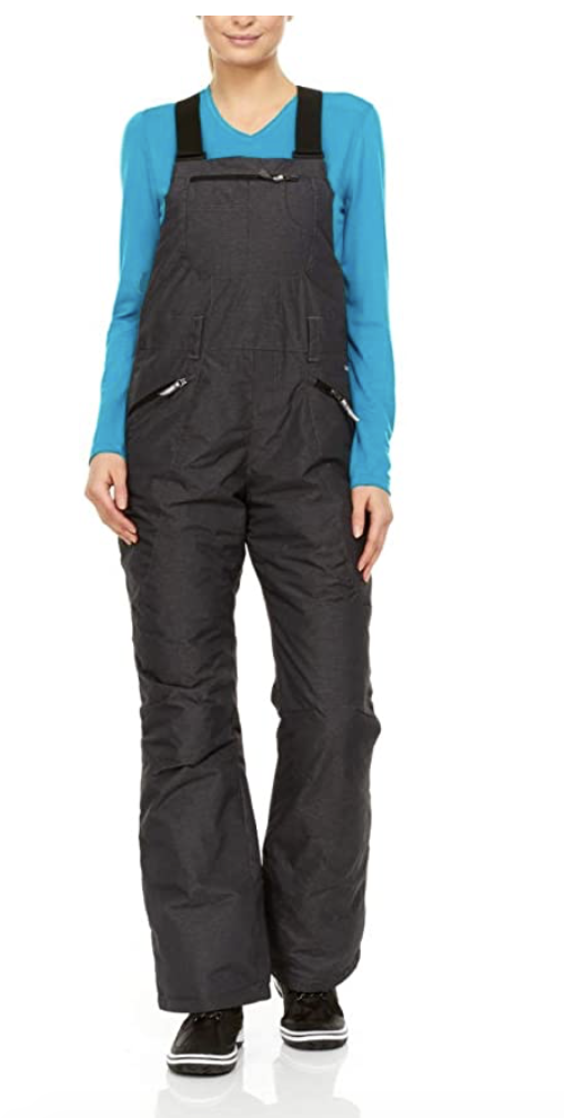 Swiss Alps Women's Waterproof Breathable Ski Bib Under $150