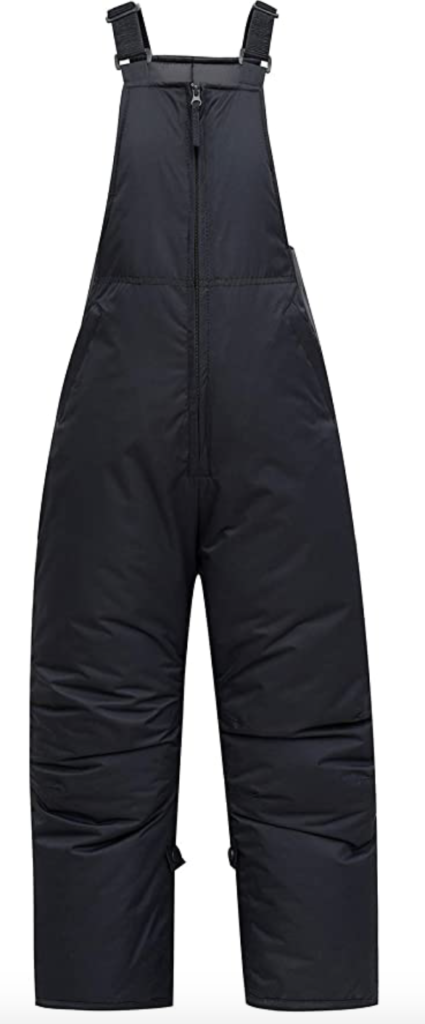 Phibee Boys Insulated Waterproof Snow Pants Under $100