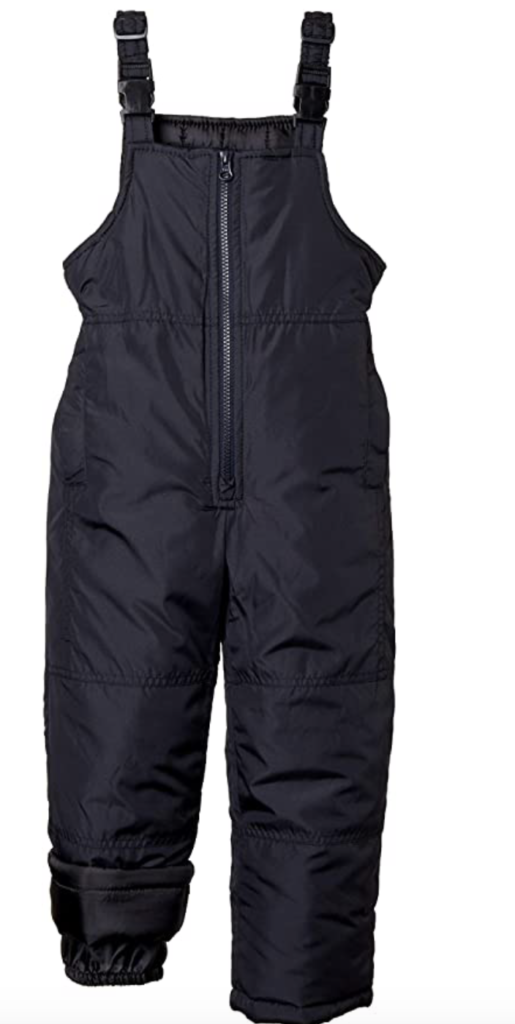 Sportoli Boys Water Resistant Snow Bib Under $100