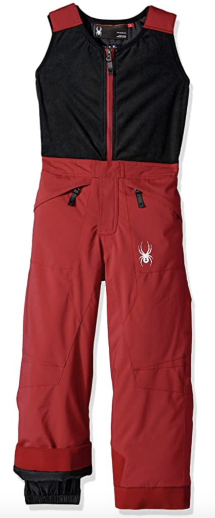 Spyder Boys Mini Expedition Ski Bibs and Overalls Under $100