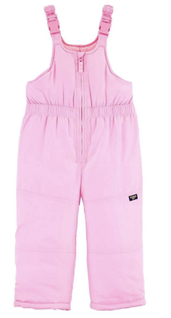OshKosh B'Gosh Snow Bibs and Overalls for Girls Under $100