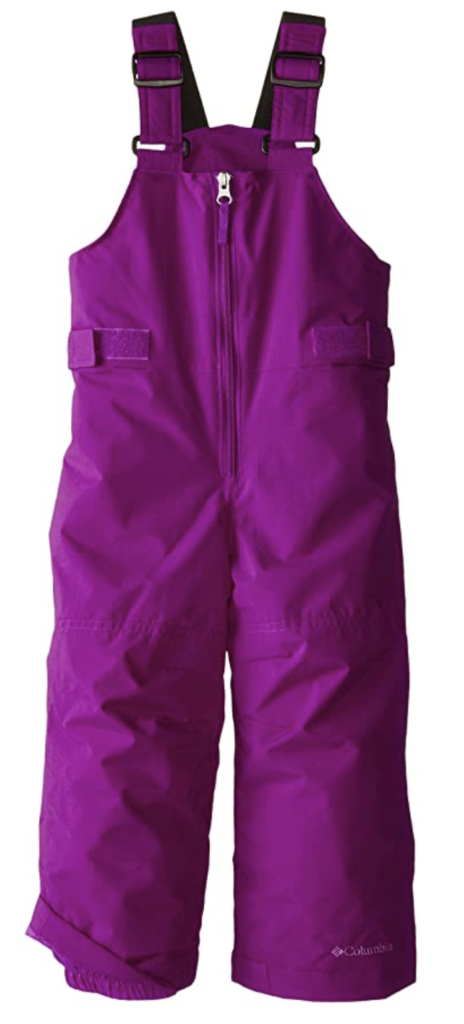 Columbia Girls' Snowslope Ii Bib Snowpant Under $100