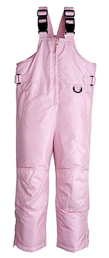 iXtreme Kids Unisex Insulated Ski Bibs and Overalls for Girls Under $100