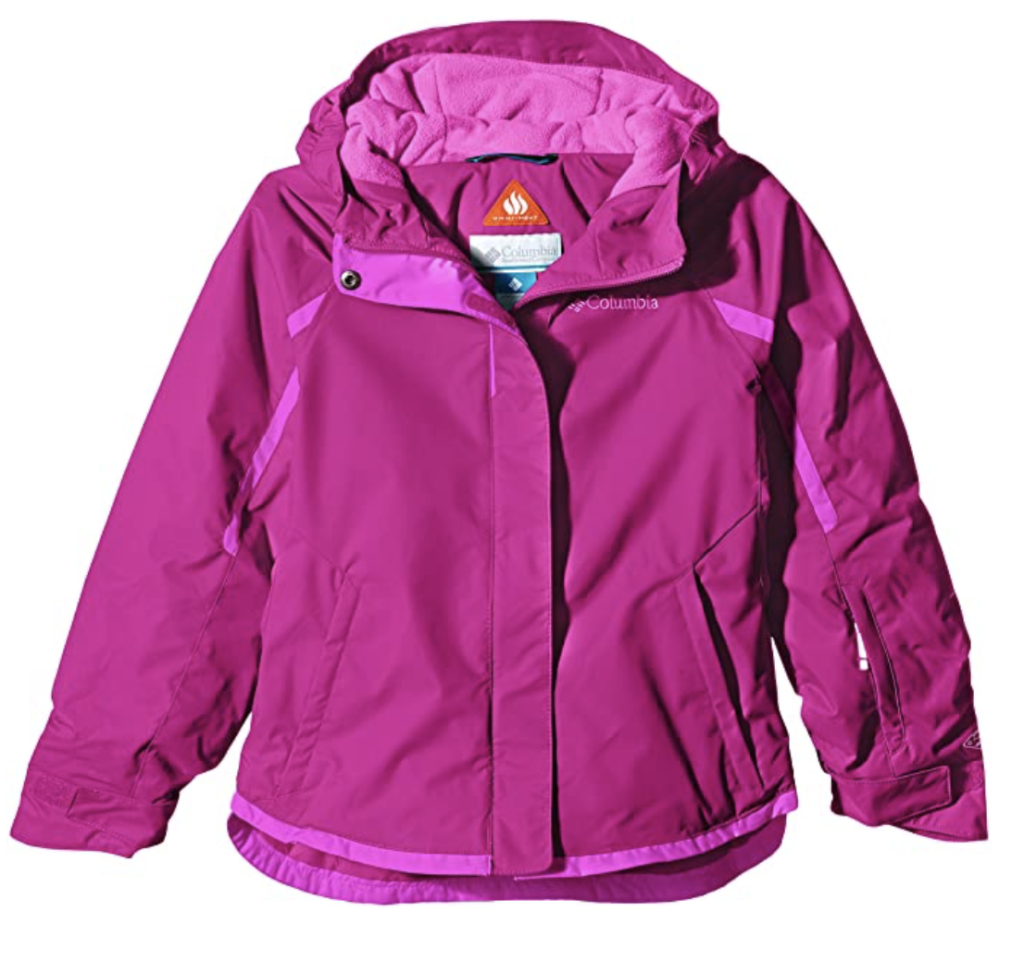 Columbia Girls' Alpine Action Youth Ski Jacket
