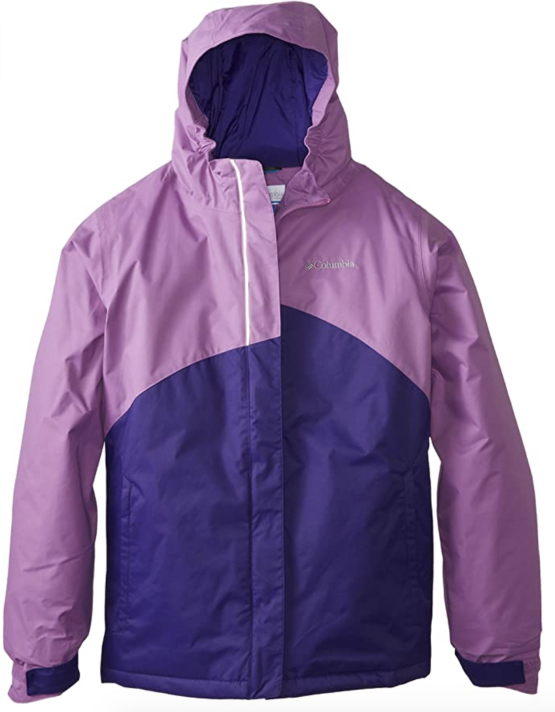 Columbia Sportswear Girls' Crash Out Youth Ski Jacket